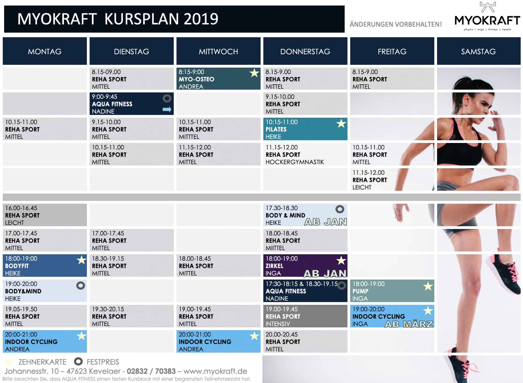 Kursplan Myokraft April 2019